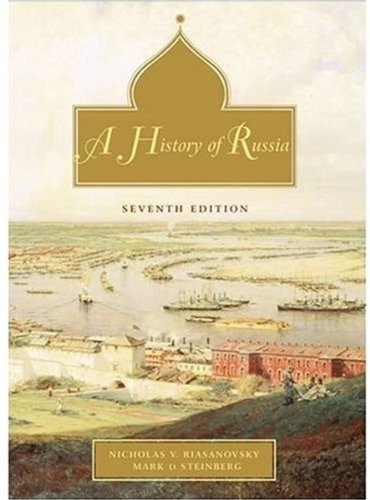 9780195153941: A History of Russia: Combined Volume