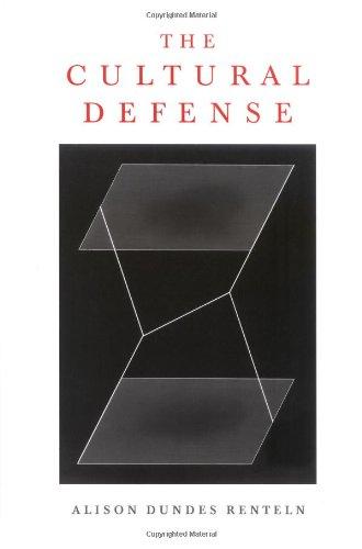 9780195154023: The Cultural Defense