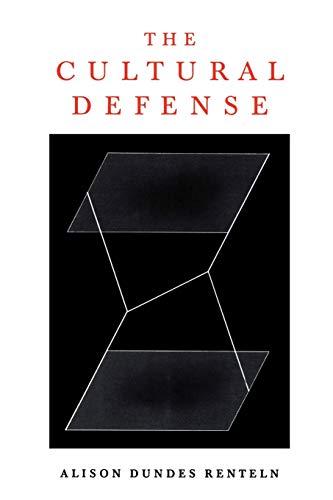 9780195154030: The Cultural Defense