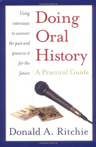 9780195154344: Doing Oral History