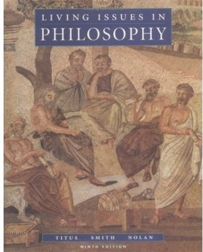 9780195155099: Living Issues in Philosophy, Ninth Edition