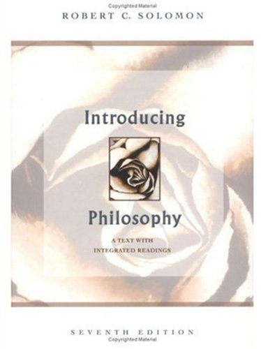 9780195155105: Introducing Philosophy: A Text with Integrated Readings