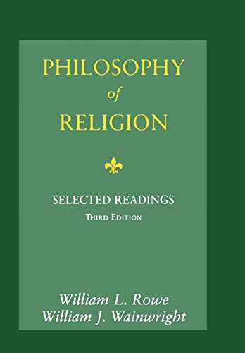 9780195155112: Philosophy of Religion: Selected Readings