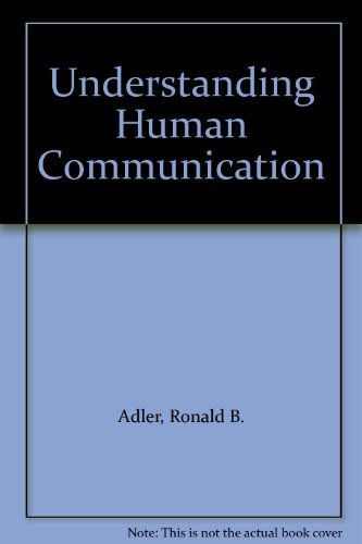 9780195155167: Understanding Human Communication