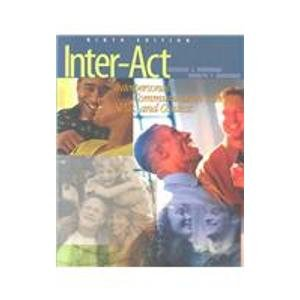9780195155242: Inter-Act With Infotrac: Interpersonal Communication Concepts, Skills, and Contexts