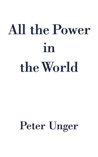 9780195155617: All the Power in the World
