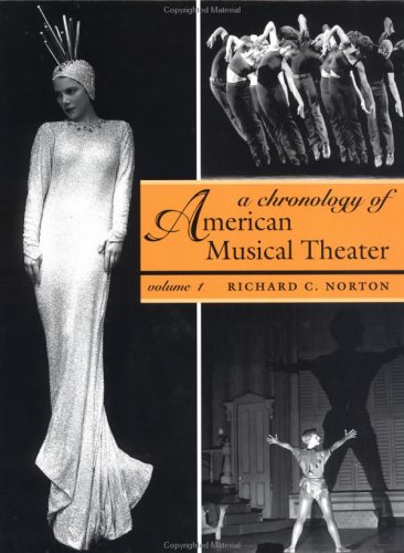 9780195155655: A Chronology of American Musical Theater