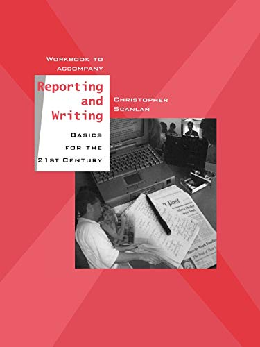 9780195155792: Workbook to Accompany Reporting and Writing Basics for the 21st Century