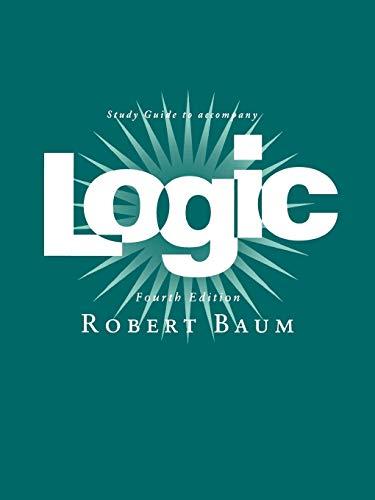 9780195155822: Logic: Study Guide