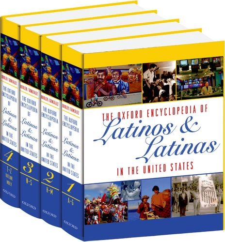 9780195156003: The Oxford Encyclopedia Of Latinos & Latinas In The United States 4 vol. set