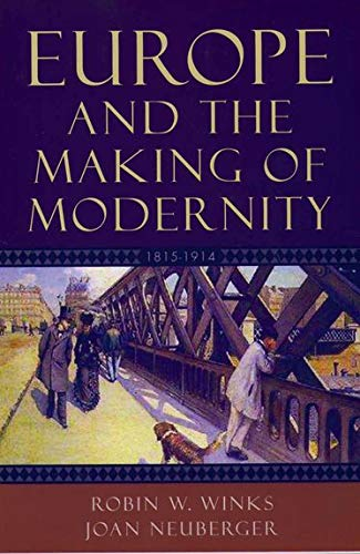 9780195156225: Europe and the Making of Modernity: 1815-1914