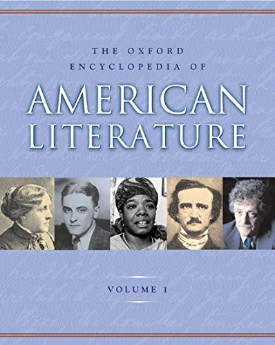 The Oxford Encyclopedia of American Literature; 4volumes set: Jay Parini