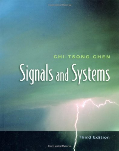 9780195156614: Signals and Systems (The Oxford Series in Electrical and Computer Engineering)