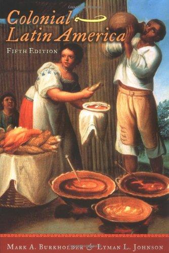 9780195156850: Colonial Latin America