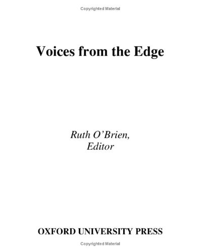 9780195156867: Voices from the Edge: Narratives about the Americans with Disabilities Act