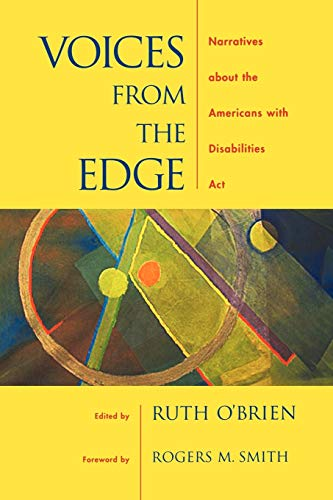 9780195156874: Voices from the Edge: Narratives about the Americans with Disabilities Act
