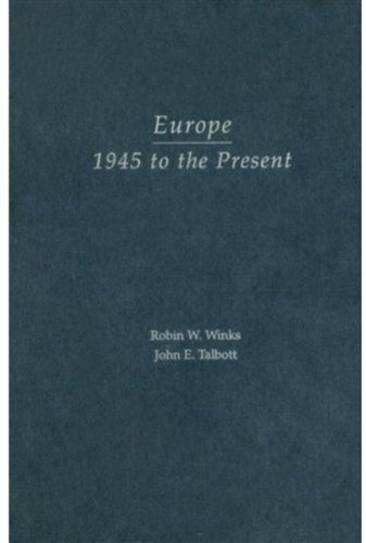 9780195156911: Europe, 1945 to the Present