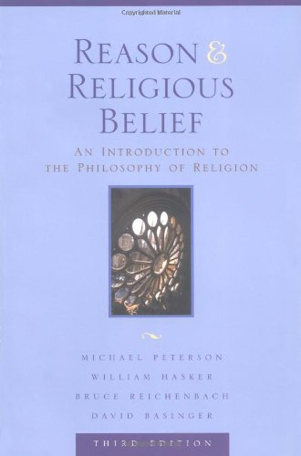 9780195156959: Reason and Religious Belief: An Introduction to the Philosophy of Religion