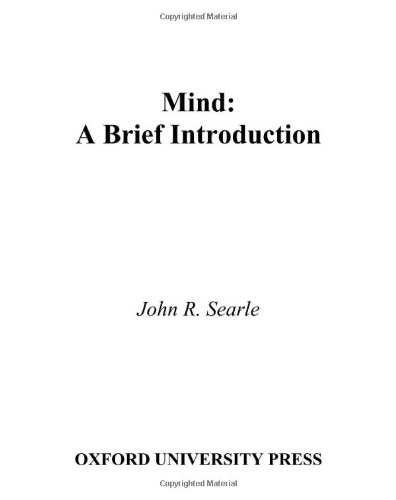 9780195157338: Mind: A Brief Introduction (Fundamentals of Philosophy Series)