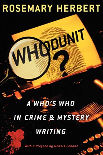 9780195157611: Whodunit?: A Who's Who in Crime & Mystery Writing
