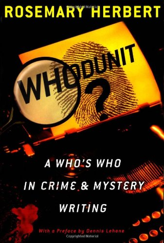 9780195157635: Whodunit?: A Who's Who in Crime & Mystery Writing