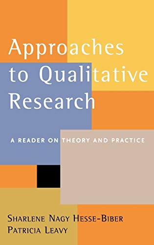 9780195157741: Approaches to Qualitative Research: A Reader on Theory and Practice