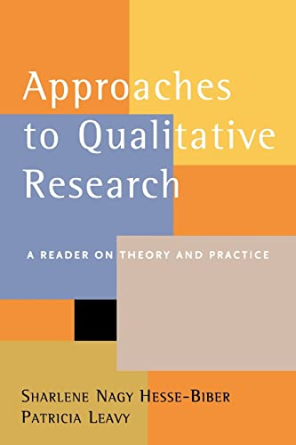9780195157758: Approaches to Qualitative Research: A Reader on Theory and Practice
