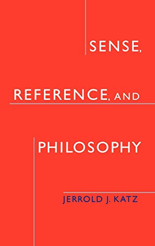 9780195158137: Sense, Reference, and Philosophy