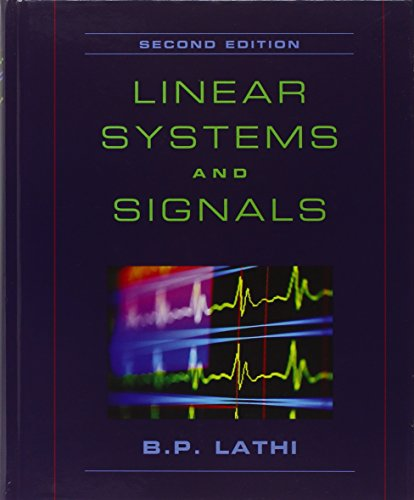 Chapter 1. E solutions | linear systems and signals 2nd edition.