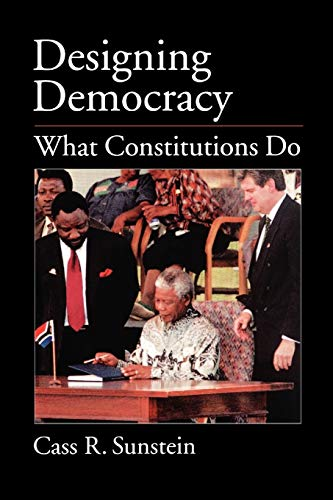 9780195158403: Designing Democracy: What Constitutions Do