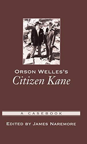 9780195158915: Orson Welles's Citizen Kane: A Casebook (Casebooks in Criticism)