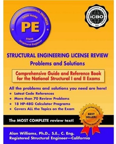 9780195159165: Structural Engineering License Review: Problems and Solutions 2002-2003 Edition (Engineering Press at OUP)