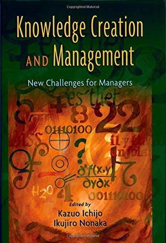 9780195159622: Knowledge Creation and Management: New Challenges for Managers