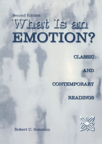 9780195159646: What Is an Emotion?: Classic and Contemporary Readings