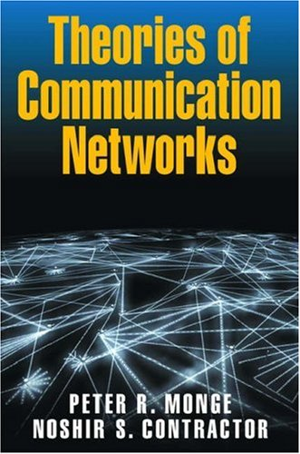 9780195160369: Theories of Communication Networks