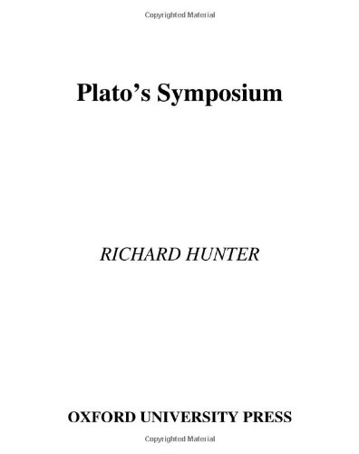 9780195160796: Plato's Symposium (Oxford Approaches to Classical Literature)