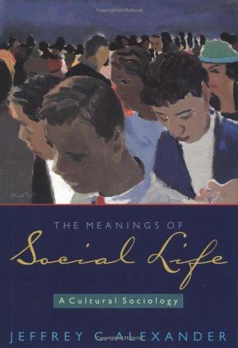 9780195160840: The Meanings of Social Life: A Cultural Sociology