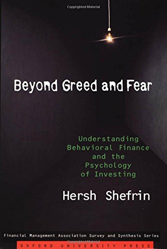 9780195161212: Beyond Greed and Fear: Understanding Behavioral Finance and the Psychology of Investing