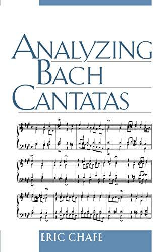 9780195161823: Analyzing Bach Cantatas