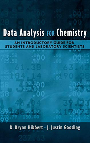 9780195162103: Data Analysis for Chemistry: An Introductory Guide for Students and Laboratory Scientists