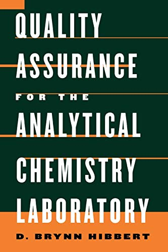 9780195162134: Quality Assurance in the Analytical Chemistry Laboratory