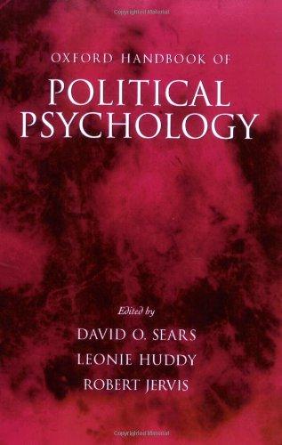 9780195162202: Oxford Handbook of Political Psychology (Oxford Handbooks)