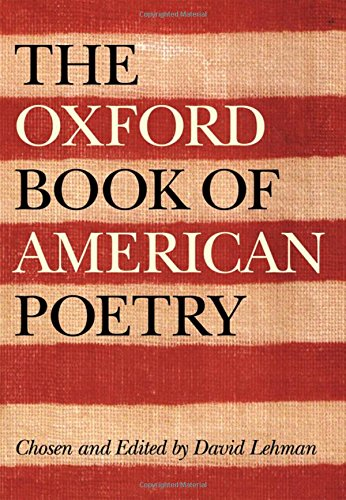 9780195162516: The Oxford Book of American Poetry