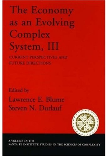 9780195162585: The Economy As an Evolving Complex System III: Current Perspectives and Future Directions: v. 3 (Santa Fe Institute Studies on the Sciences of Complexity)