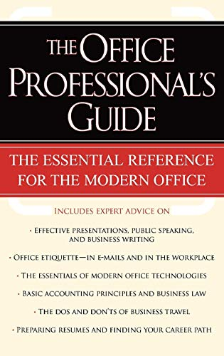 9780195165197: The Office Professional's Guide
