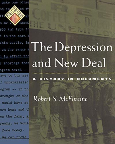 9780195166361: The Depression and New Deal: A History in Documents (Pages from History)