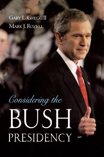 9780195166804: Considering the Bush Presidency