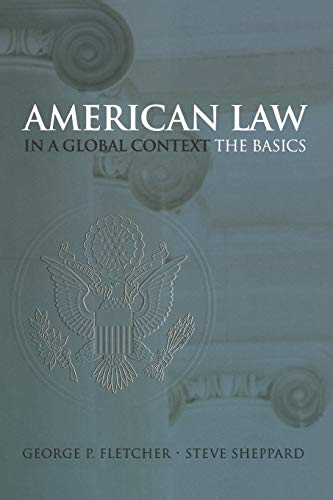 9780195167238: American Law in a Global Context: The Basics