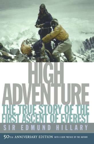9780195167344: High Adventure: The True Story of the First Ascent of Everest