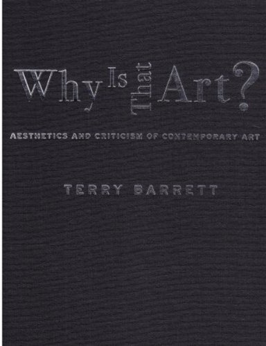 9780195167412: Why Is That Art?: Aesthetics and Criticism of Contemporary Art